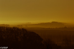 Dinnington, South Yorkshire, England (@LFLD) Tags: northanston england unitedkingdom gb sunrise landscape dinnington