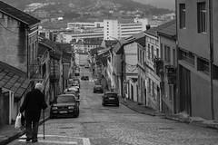 Local Lifestyle (52weeks2017#07 - L is for...) (ponzoñosa) Tags: bw bn local lifestyle neighbourhood vecina cars city descent blancoynegro blancetnoir 52 penarredonda esceas