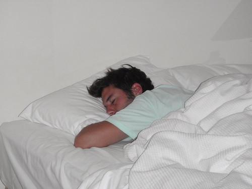 en casa me levanto cuando quiero!