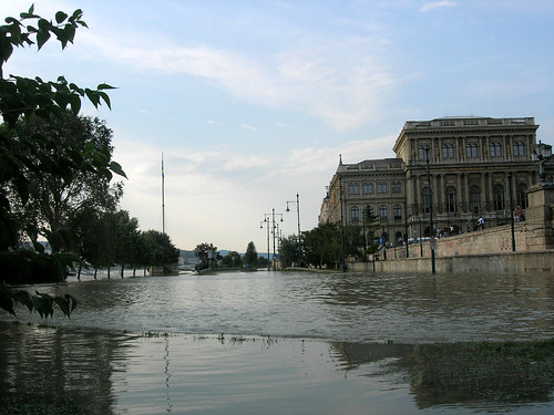 Donau flood at Budapest, 2009 June 29 #3