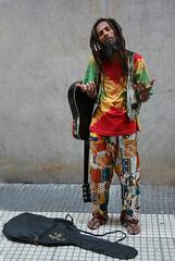 (NadiaGuzmanPH) Tags: music calle gente musica dread busker reggae rasta dreadlock trabajador rastas rastaman streetworker