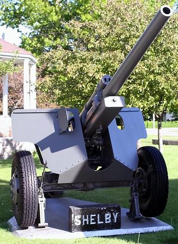M5 3 inch gun on M6 carriage, gun plate actually says #45 from 1942 Rock Island Arsenal 3 inch gun M9