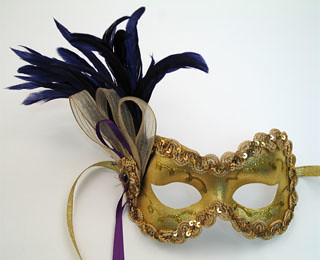 The Best Feather Masks!