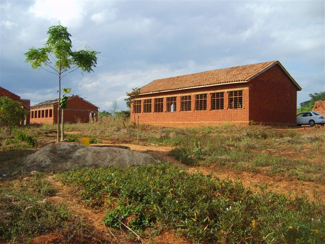 Both Classroom blocks (rear view)