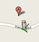 Google Map Man in Space Suits