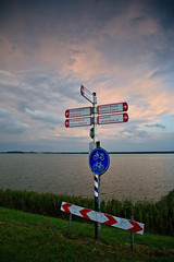 After rain... (KennethVerburg.nl) Tags: sunset sky lake netherlands dutch meer nederland nederlands flevoland almere gooimeer almerehaven