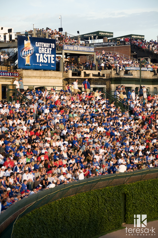 Wrigley Field, Chicago Illinois by Teresa Klostermann of Teresa K photography