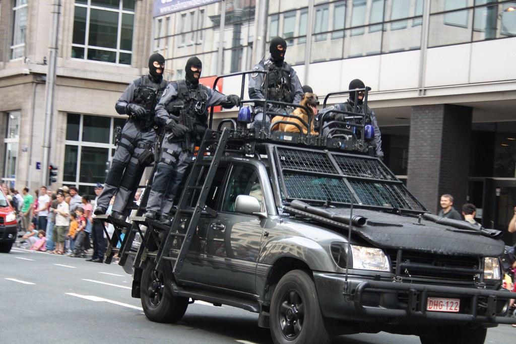 Fęte nationale - Nationale feest - Défilé du 21 juillet 2009 - Police-Politie