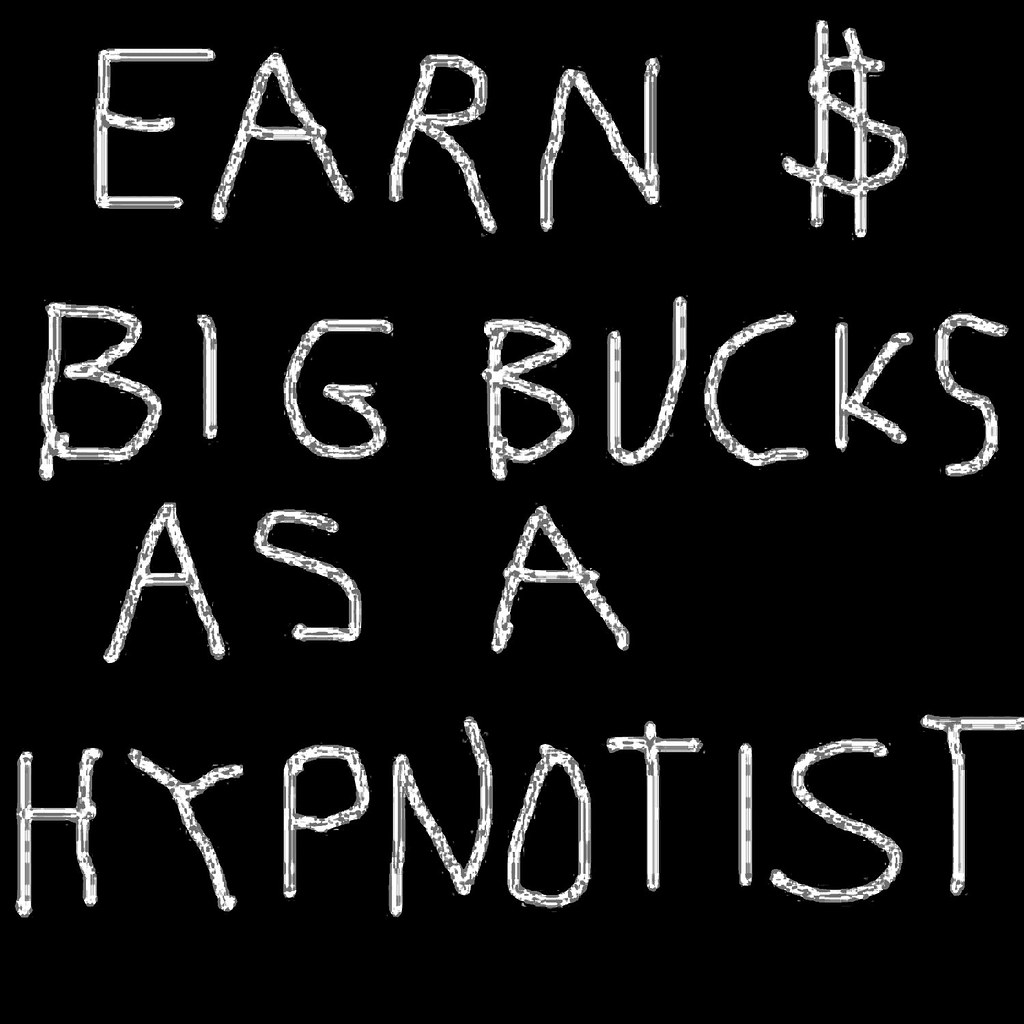 Just show up, knock their socks off and hypnotise your way to wealth