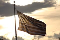 Old Glory! (grayd80) Tags: flag breeze waving settingsun oldglory