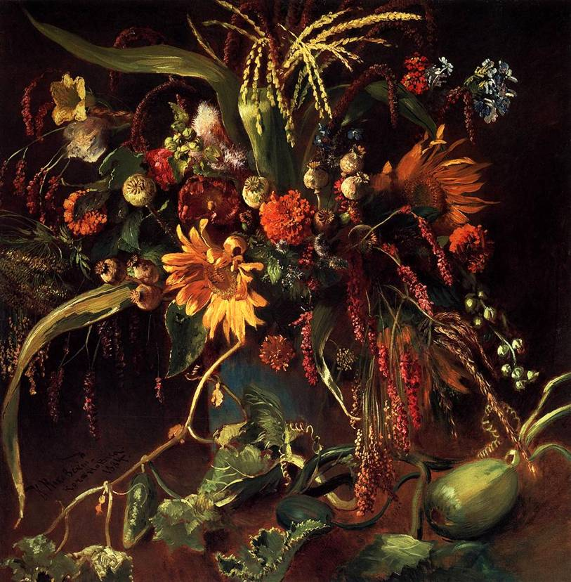 Makovsky, Flowers