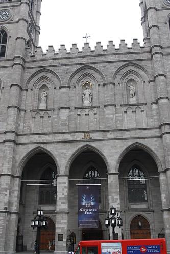 Notre Dame by Place de Arms