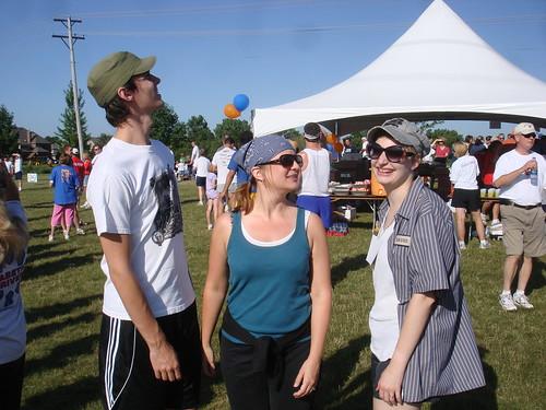 Tim, Rebecca, and Erica