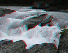 Yoho National Park (Redbeard Math Pirate) Tags: canada stereoscopic 3d anaglyph stereo banff redblue yoho banffnationalpark anaglyphic threedimensional yohonationalpark redcyan 3dpictures