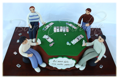 Poker Cake1