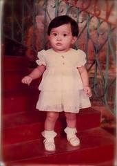 1 year old on Sept 27,1984 (mininorachan) Tags: portrait 1984 mizz sani abdullah noras norhizawati