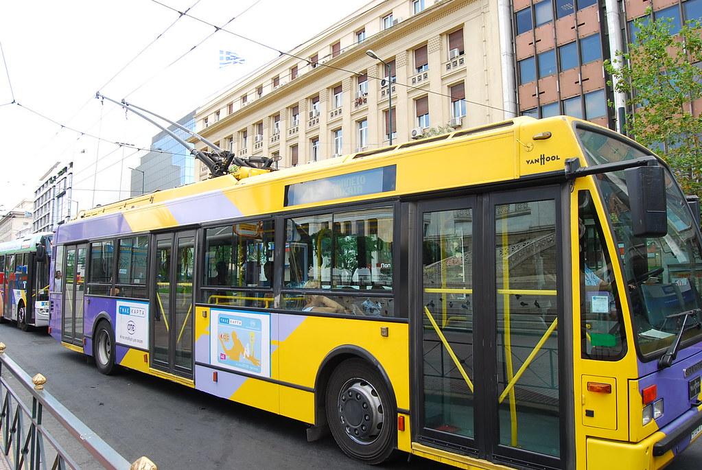 Contaminación en Atenas a pesar del transporte público