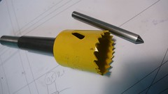 Holesaw arbor (Edelbikes) Tags: paragon holesaw mitering