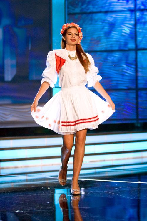 Traje Típico de Miss Croacia