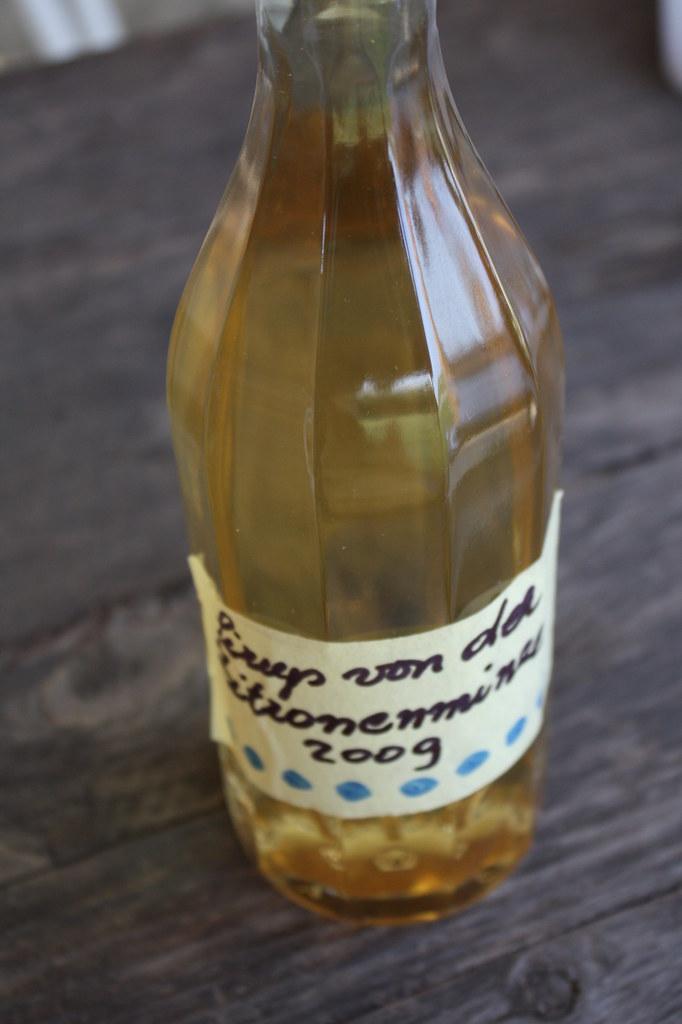 Zitronenminze Sirup von der lieben Ingrid