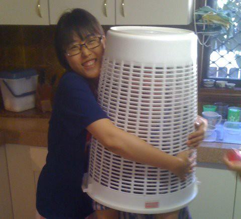 Basket Monster Captured