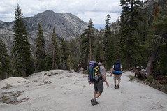 Going back down (Emerald Bay, California, United States) Photo