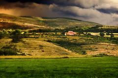 Tempestad sobre los campos