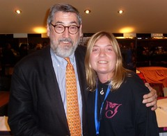 Me and John Landis (Abi Skipp) Tags: empire michaeljackson frightfest thriller johnlandis