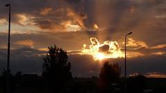 Sunset #18 (J Kluen) Tags: sunset orange sun silhouette clouds contrast fire dramatic monnickendam cloudysunset panasonicdmcfz28sunsetmonnickendamcloudsdramaticsilhouettecontrastorangefire