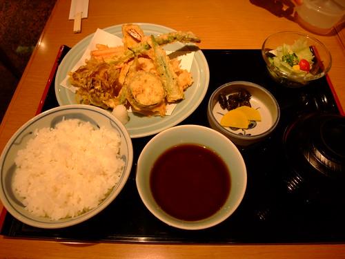 銀座天國 - 彩定食