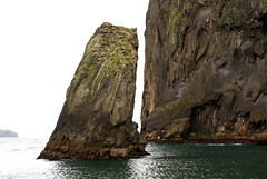 Pillar from the Sea (little_frank) Tags: ocean light sea wild panorama cliff black nature water rock vertical wall dark landscape island coast iceland islandia fantastic scenery europe waves silent view place natural horizon great north dream dramatic surreal peaceful stack legendary atlantic special fantasy foam stunning nordic wilderness fabulous 1001nights northern scape pure legend volcanic soe breathtaking impressive vestmannaeyjar archipelago vastness islande heimaey waterscape breathless unspoiled islanda irreal primordial immensity eow supershot golddragon mywinners abigfave impressedbeauty ultimateshot sland flickrdiamond theunforgettablepictures fbdg