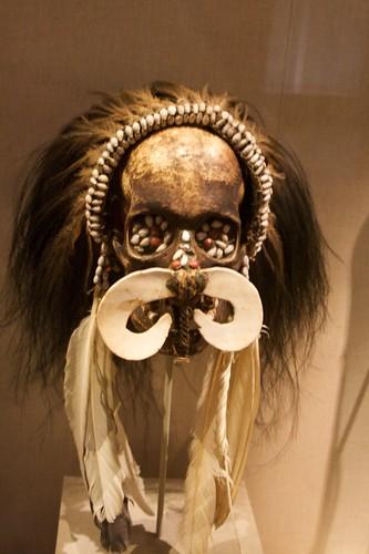 Asmat Ancestor Skull