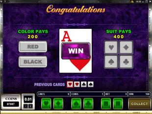 free Break da Bank Again gamble feature