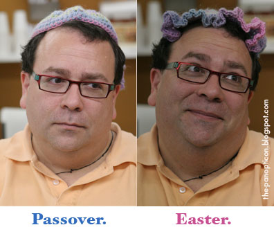 In Your Easter Yarmulke