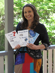 Joanna Penn with her 3 non-fiction books
