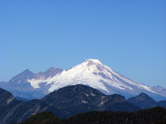 Mount Baker from Goat Flats