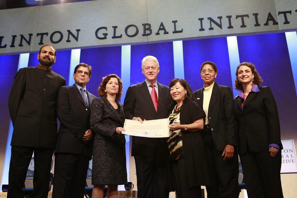 UNHCR News Story: Corporate partners announce projects with UNHCR at annual Clinton Global Initiative meet