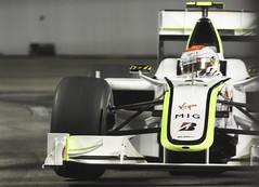 Rubens Barrichello Brawn GP (kazeeee) Tags: night race one singapore grand f1 prix formula rubens 2009 gp brawn barrichello singtel