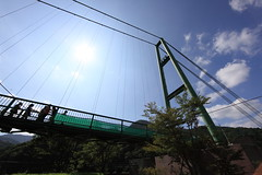 Momijidani Suspension Bridge / もみじ by TANAKA Juuyoh (田中十洋), on Flickr