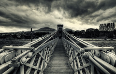 Suspense (ian_mcc) Tags: bridge scotland suspension sigma explore melrose 1020 hdr borders tweed noloitering gattonside trimontium built1826 nomorethan8people