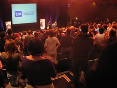 Standing ovation for Simon Singh at TAM London