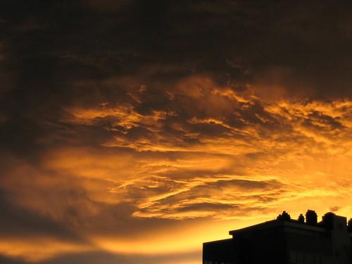 Nubes tras la tormenta
