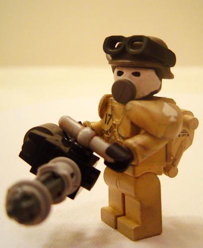 Death Dealer heavy trooper custom minfig