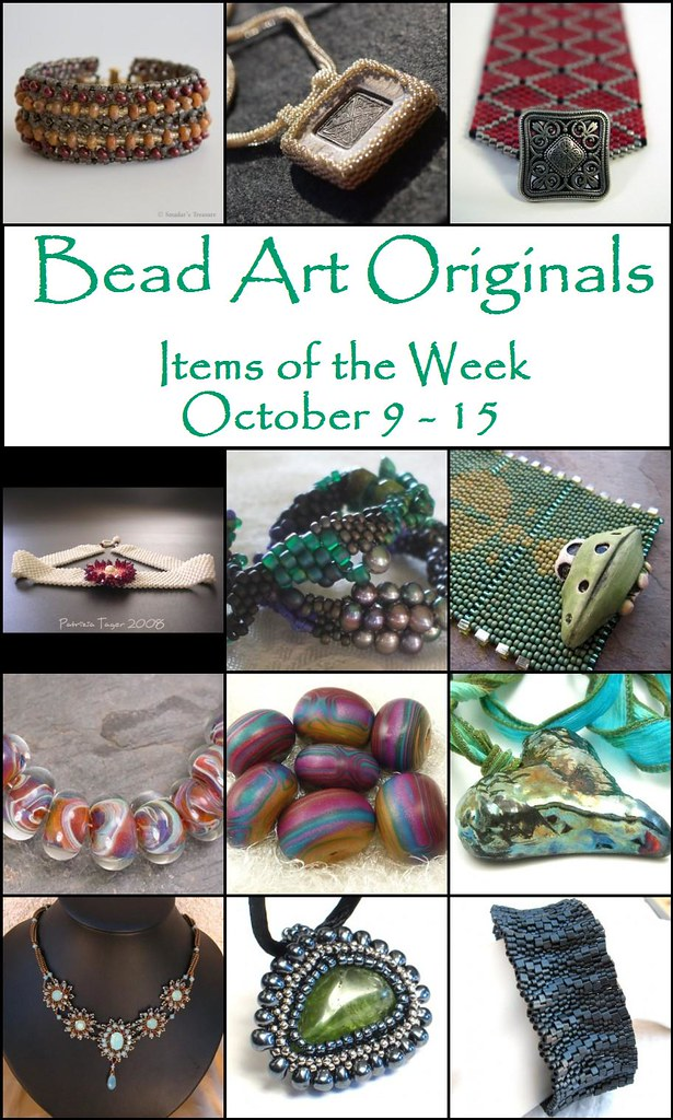 Bead Art Originals Items of the Week (Oct 9-15)