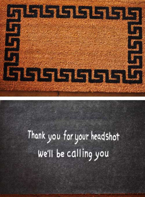 welcome mat anti-theft 2
