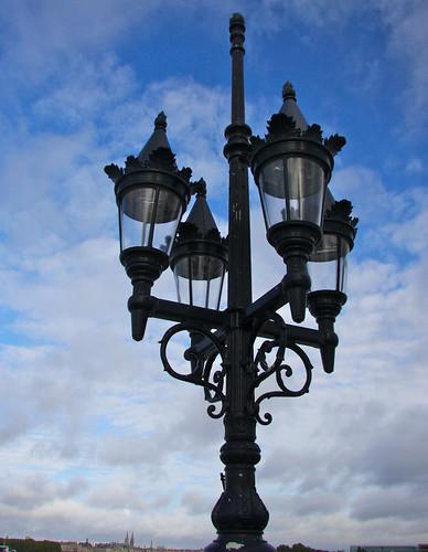 Lamps on Pont de Pierre
