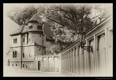 Klausnov Synagoga - Prague (Filip Nystedt) Tags: prague prag distillery vignette oldjewishcemetery klausnovsynagoga