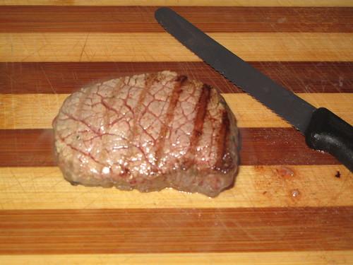 Steak....resting