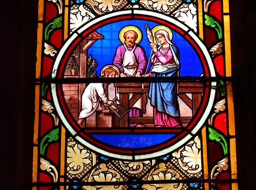 Jésus, n'est-il pas le charpentier, le fils de Marie ?