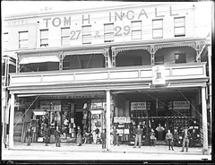 Tom H Ingall's Draper Store, 27-29 Hunter Street, Newcastle, NSW, 20 August 1898 (Cultural Collections, University of Newcastle) Tags: shop newcastle store australia nsw draper 1898 hunterst ingall ralphsnowball snowballcollection ralphsnowballcollection tomingall asgn0826b37 newcastleregionnswhistorypictorialworks photographynewsouthwalesnewcastle